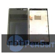 Дисплей (экран) и тач скрин для Nokia Lumia 920 черный