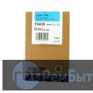 Картридж Epson T5435 со светло-синими чернилами