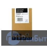 Картридж Epson T5431 с фото черными чернилами