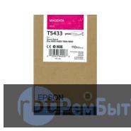 Картридж Epson T5433 с пурпурными чернилами