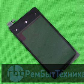 Тач скрин (стекло) для Nokia Lumia 920 черный