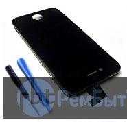 Apple iPhone 4  LCD  Дисплей (экран) и тач скрин черный